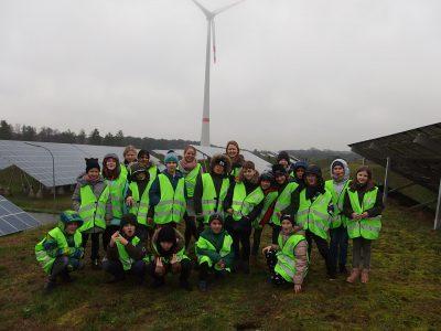 Besuch des Bioenergieparks